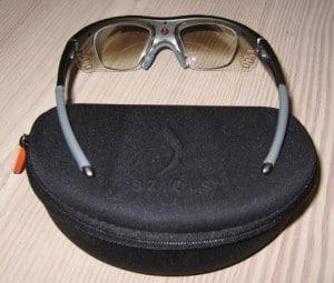 Sziols sportsbriller og solbirille med styrke, kan se brillen/styrkeindsatsen.
